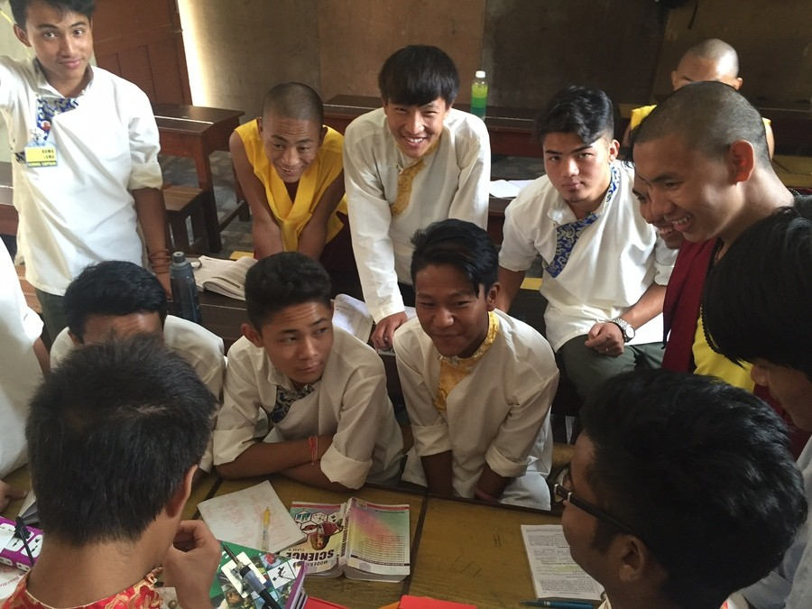 A few classroom sessions were spent at the Shree Mangal DVIP School, a school in Kathmandu for students from Himalayan villages.